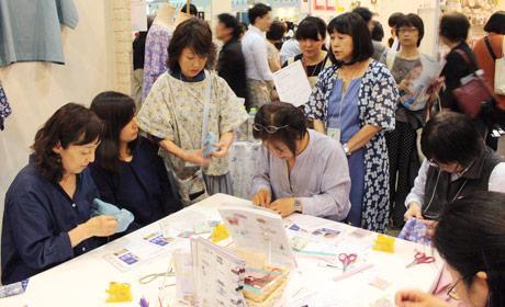 高橋恵美子のやさしい手ぬい教室 特別講習会の様子