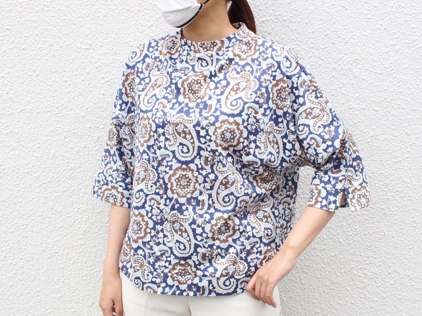 クライ・ムキ式ソーイングスクール ハンドクラフトフェア特別講習会 ソレイアード生地で作る袖カフスTシャツ