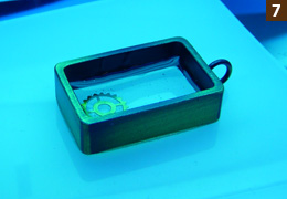 UVレジン・フレームアクセサリー・作り方7