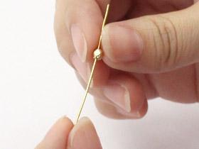 イヤリングの作り方2