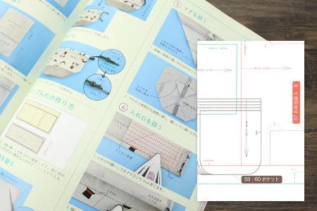 見やすい写真解説&実物大の型紙付き