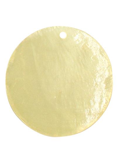 カピスシェル レモン 約40mm