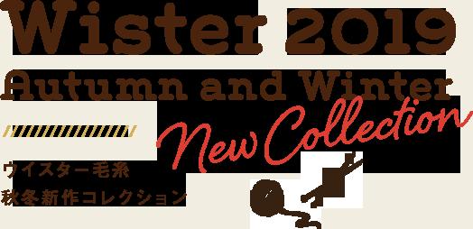 Wister(ウイスター)2019-2020 秋冬新作毛糸