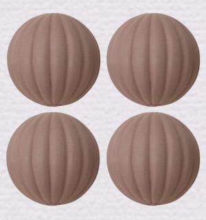 チョコビーズ メロン型
