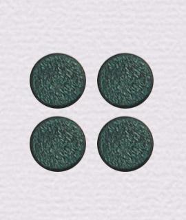 ウッドビーズ コイン型 小