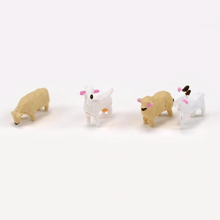 ジオコレ ザ・動物 小分けパック ひつじ・ヤギ
