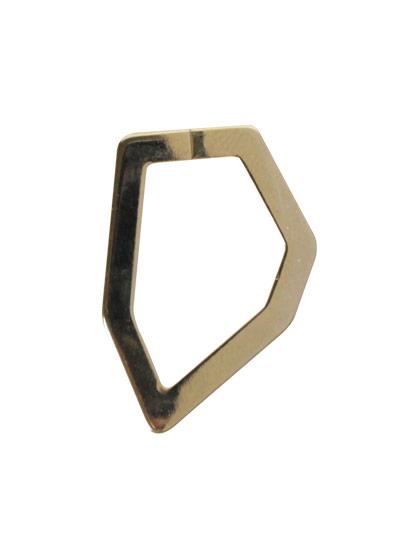 ツールフリーメタル 変形六角フープ 約28×20mm