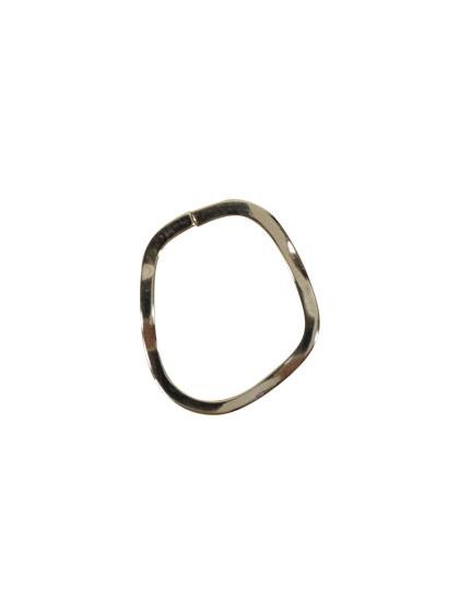 ツールフリーメタル 変形細フープ 約18×16mm