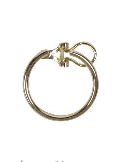 フープイヤリング金具 バネ式 1ペア入