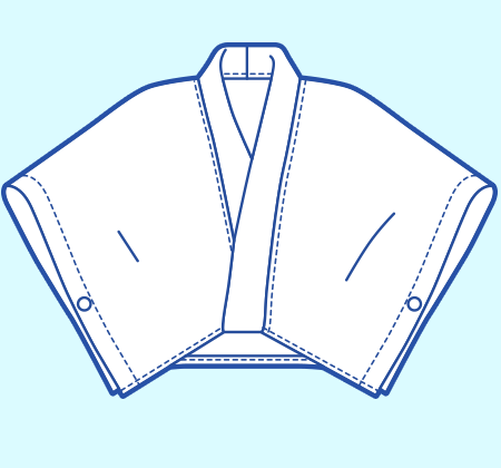 基本のレシピ まっすぐ縫いの簡単はっぴ