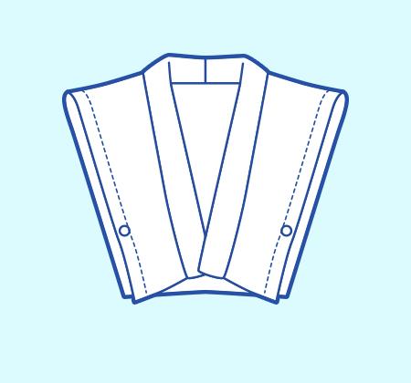 基本のレシピ まっすぐ縫いの簡単ベスト