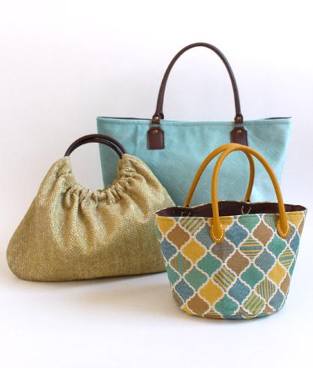 本当に持ちたいハンドメイドバッグのための持ち手集 サンプルバッグ