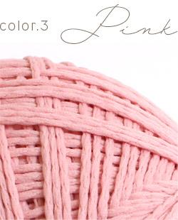 ウイスターポリクル color.3 ピンク