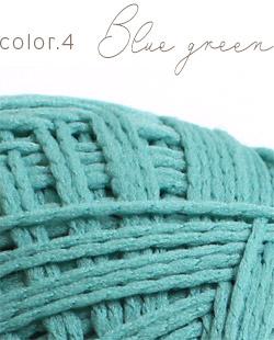 ウイスターポリクル color.4 ブルーグリーン