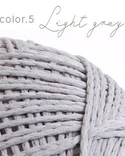 ウイスターポリクル color.5 ライトグレー