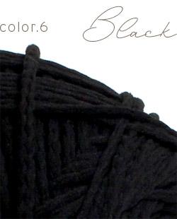 ウイスターポリクル color.6 ブラック