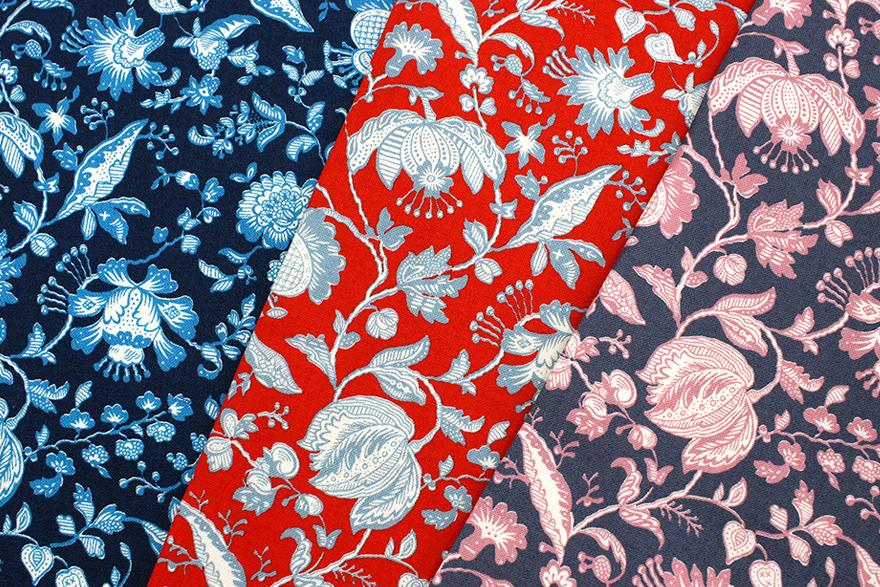 リバティプリント Victoria Floral ラセンビィ・コットン